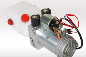 Cilindro hidraulico electrico 12v